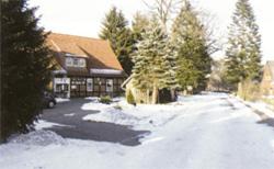 Ortschaft Buchholz: Gaststätte im Winter©Stadt Visselhövede