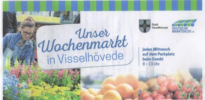 Symbolbild Wochenmarkt©Stadt Visselhövede