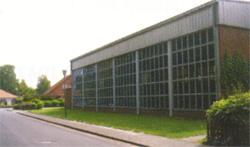 """Sporthalle """"Gerhart-Hauptmann-Straße""""©Stadt Visselhövede"""