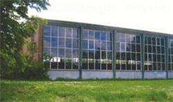 """Sporthalle """"Auf der Loge""""©Stadt Visselhövede"""