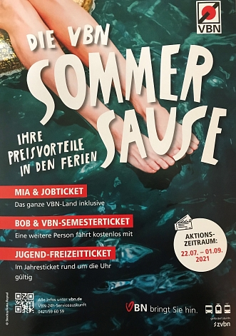 Poster VBN Sommersause 2021